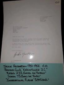 JACKIE HENDERSON PORTSMOUTH FC