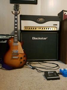 Gibson les paul & amp