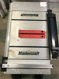 Mastercarft Table saw 10""