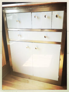 Vintage Metal Cabinet from Up Country