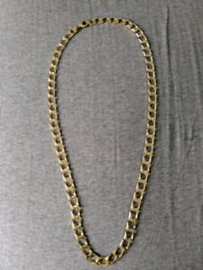 Gold thick chain