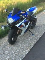2007 gsxr LOW KM MINT SHAPE