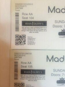 Madison violet tickets!!!!!