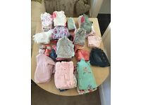 Large 3-6month baby girl clothes