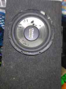 Clarion  Pro Audio12 /1200 watts Watts dual voice coil subwoofer