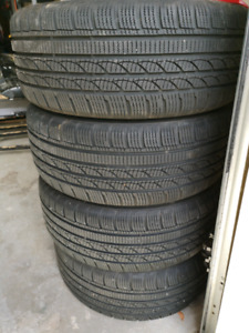 Winter snow tires almost new