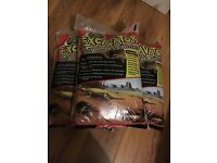 3 x Excavator clay burrowing sand reptile substrate for lizards