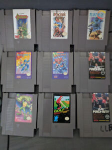 Game lots for sale, NES, SNES, N64, GC, Wii, PS1 GBA, DS and 3DS