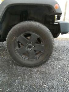 mags Jeep et pneus d'hiver