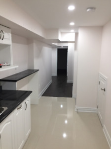 Newly Finished Basement For Rent (McCowan and Steeles)
