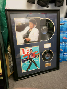 FRAMED MICHAEL JACKSON COLLECTION