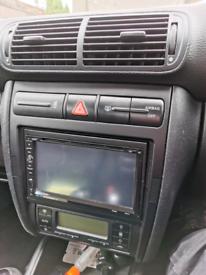 Seat Leon/Toledo mk1 double din console