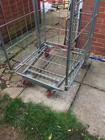 Storage/Shop/Industrial Cage Trolley - Large and Very Strong