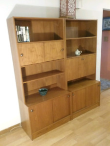 Gorgeous Teak Wall Unit