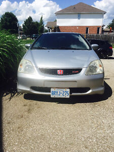 2002 Honda Civic SiR Coupe (2 door)