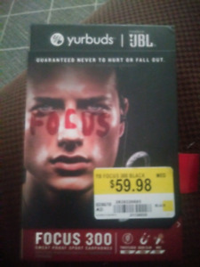 JLB yurbuds Focus 300 wireless bluetooth