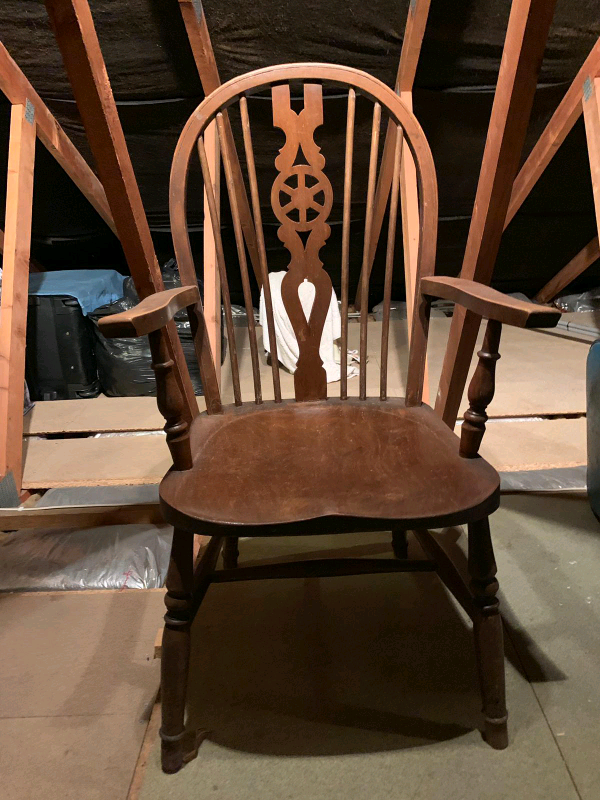Super Wooden Chair In Farnborough Hampshire Gumtree Download Free Architecture Designs Scobabritishbridgeorg