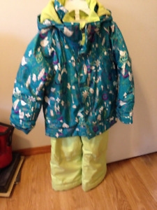 Burton girls snow suit