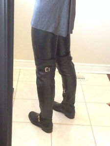 Over the Knee Boots - Premium Spanish Leather