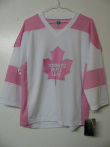 TORONTO MAPLE LEAFS MONTREAL CANADIENS FEMALE HOCKEY JERSEYS NWT