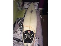 6ft surf board