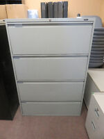 4 Drawer Lateral Filing Cabinets $150 - $175