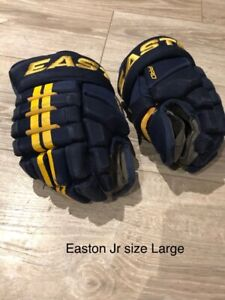 Hockey Gloves Easton Junior Large