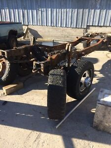 1999 ford f 350 4x4 truck frame and axles