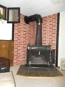 Franklin Stove and chimney