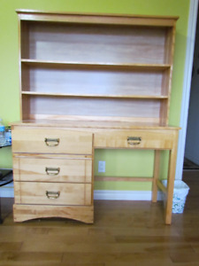 Desk, Table and Headboard