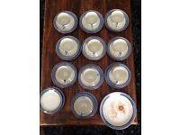 Vintage Chikaramachi Japanese Egg Shell Porcelain Tea/Coffee Set
