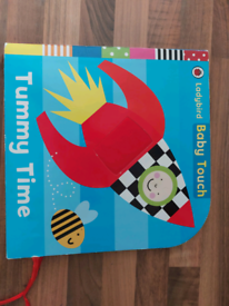 Tummy time book for baby