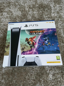 PS5 DISC EDITION WITH RATCHET AND CLANK BUNDLE