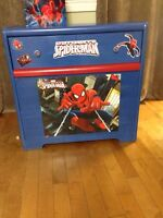 Spiderman Dresser and End Table