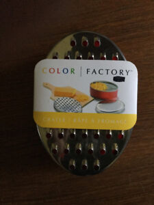 Oval Cheese Grater with Container - NEW