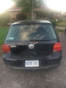 NEED GONE! 2002 Volkswagen Golf