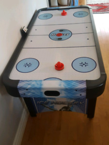 Air Hockey table.  Barely used