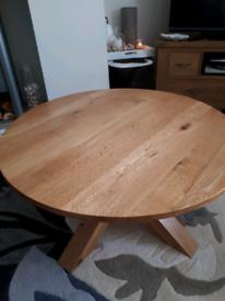 Next oak coffee table