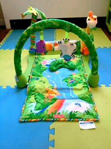 Fishcer price jungle play mat