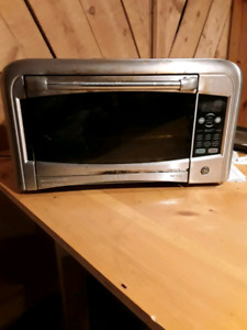 GE convection oven stainless