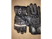 Rathven motorcycle gloves medium