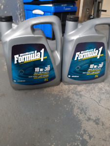 NEW MotoMaster Formula1  Motor Oil 10w30 Wearguard w/ Synthetic