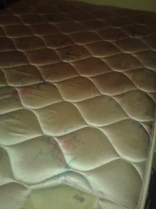 DOUBLE MATTRESS (CLEAN, NICE SHAPE) CALL #226 344 5107