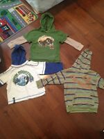 Boys hooded tops size 3