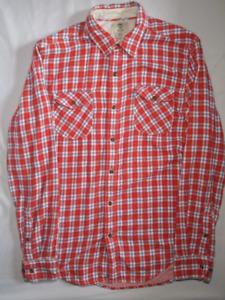 Timberland Flannel Shirt Men's Medium