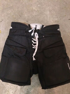 REEBOK 9K JR GOALIE PANTS BLACK