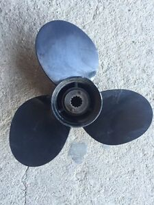 New. Never used Mercury 12.5x8 propeller