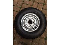 Classic mini 10 inch wheel and tyre