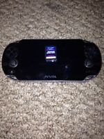 PS Vita with racing game. NO CHARGER