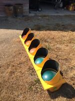 Large traffic light with turning signal !